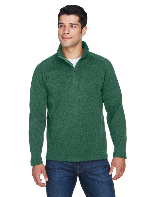 ebec1ae4085b DG792 Prime. Devon   Jones Adult Bristol Sweater Fleece Quarter-Zip