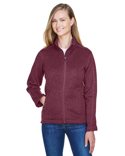 94c5217b0943 DG793W Prime. Devon   Jones Ladies  Bristol Full-Zip Sweater Fleece Jacket