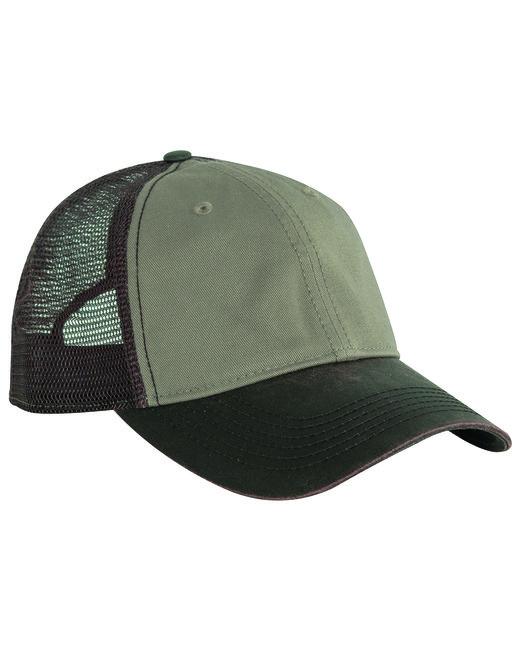 Dri Duck Meshback Field Cap - Khaki
