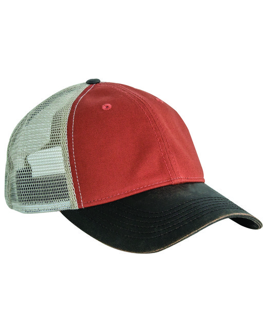 Dri Duck Meshback Field Cap - Orange