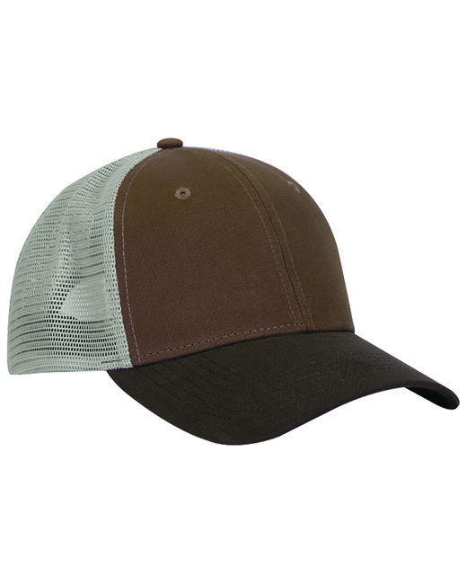 Dri Duck Hudson Trucker Cap - Fld Khaki/ Tob