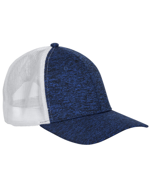 Dri Duck Fuse Trucker Cap - Blue