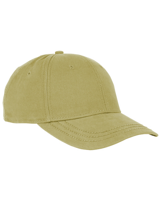 Dri Duck Cotton Twill Heritage Cap - Khaki