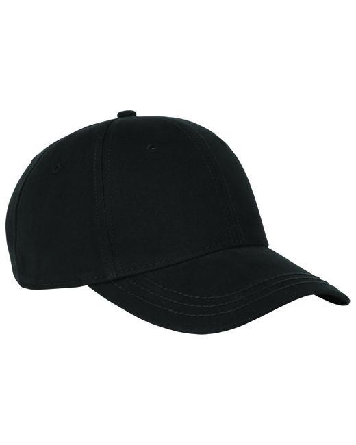 Dri Duck Cotton Twill Heritage Cap - Black