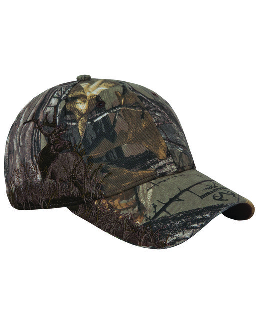 Dri Duck Brushed Cotton Twill Elk Cap - Camo Xtra