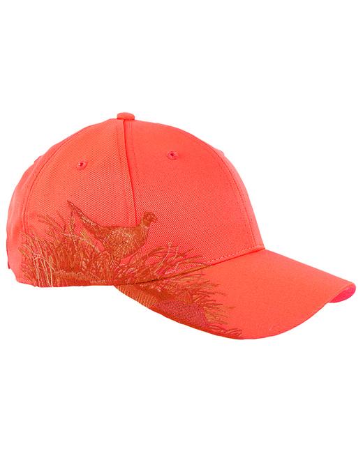 Dri Duck Brushed Cotton Twill Pheasant Cap - Blaze