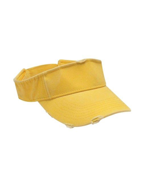 Adams Unisex Drifter Visor - Lemon