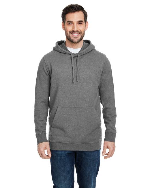 econscious Adult Hemp Hero Hooded Sweatshirt - Stonework Gray