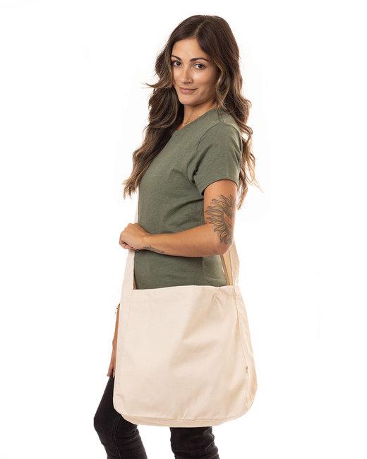 econscious Organic Cotton Canvas Farmer'sMarket Bag - Natural