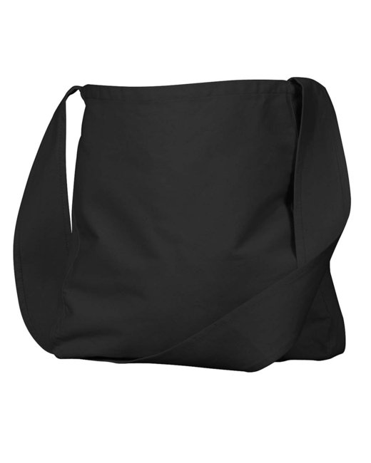 econscious Organic Cotton Canvas Farmer'sMarket Bag - Black