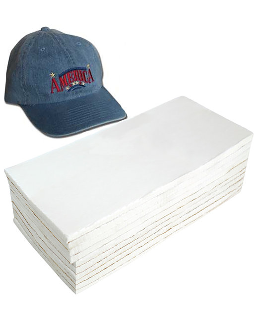 Decoration Supplies Extra Heavy Weight Cap Backing - 3.75X8 250 Pack