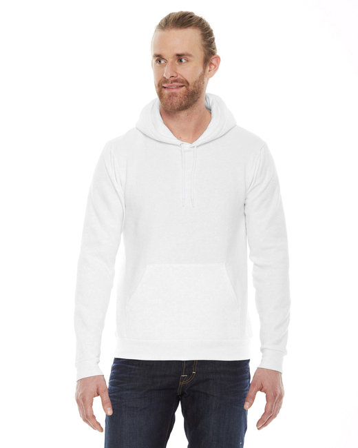 American Apparel Unisex Flex Fleece Drop�Shoulder Pullover Hoodie - White