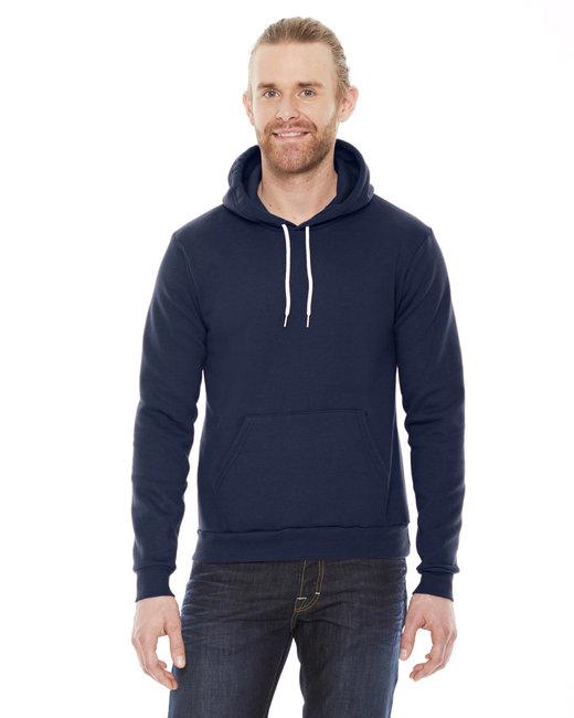 American Apparel Unisex Flex Fleece Drop�Shoulder Pullover Hoodie - Navy