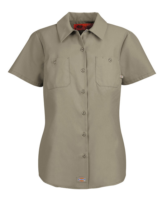 Dickies Ladies' Industrial Shirt - Desert Sand