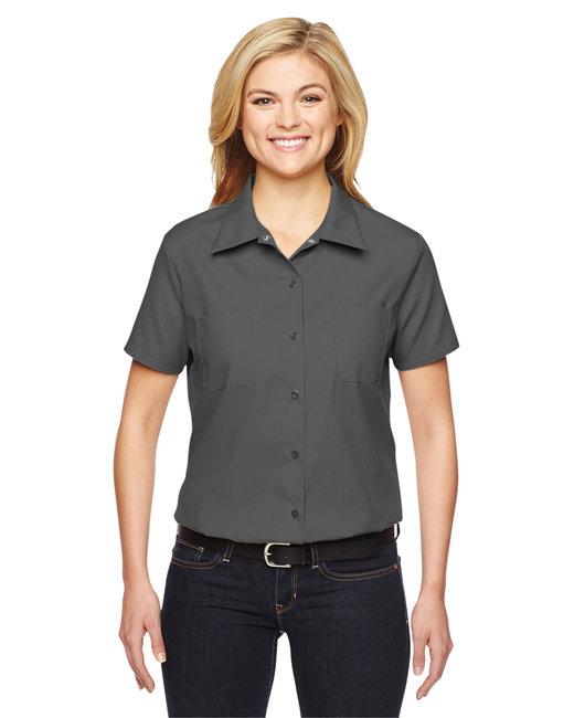 Dickies Ladies' Industrial Shirt - Dark Charcoal
