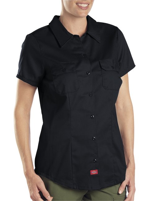 Dickies Ladies' 5.25 oz. Twill Shirt - Black
