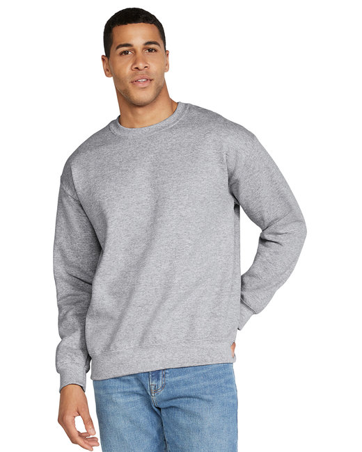 Gildan Adult DryBlend Adult 9 oz., 50/50Fleece Crew - Sport Grey