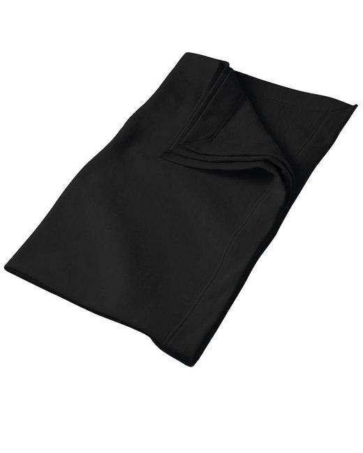 Gildan DryBlend 9 oz. Fleece Stadium Blanket - Black