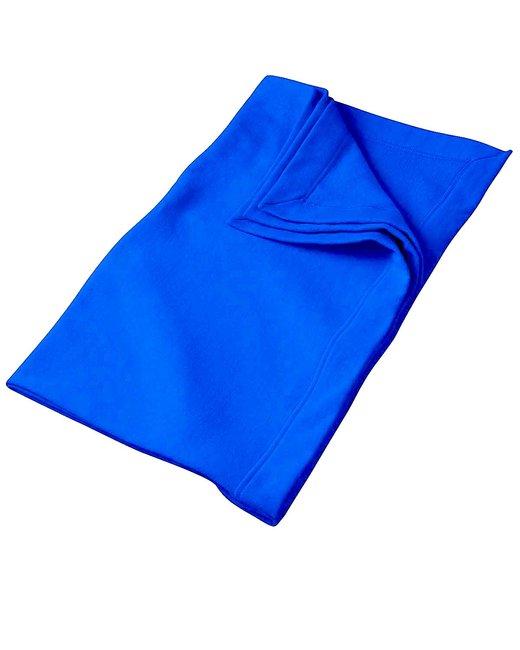 Gildan DryBlend 9 oz. Fleece Stadium Blanket - Royal