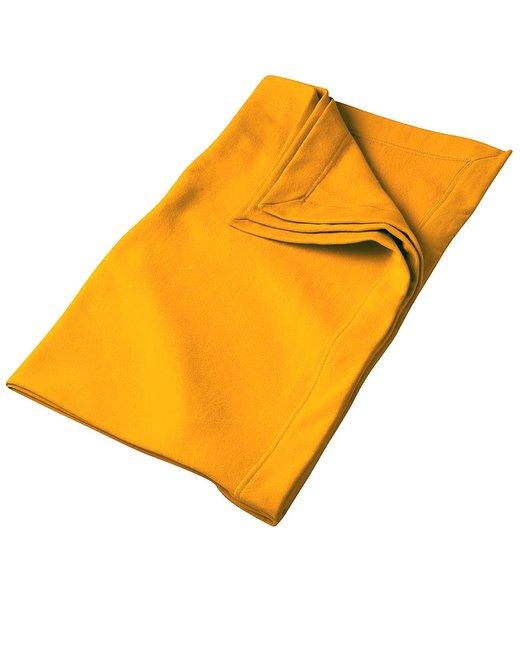Gildan DryBlend® 9 oz. Fleece Stadium Blanket - Gold