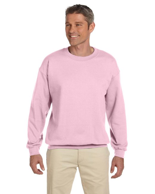 Gildan Adult Heavy Blend Adult 8 oz., 50/50 Fleece Crew - Light Pink