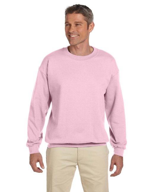Gildan Adult Heavy Blend Adult 8 oz., 50/50 Fleece Crew - Light Pink