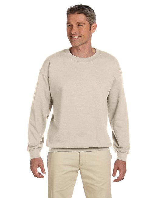 Gildan Adult Heavy Blend Adult 8 oz., 50/50 Fleece Crew - Sand