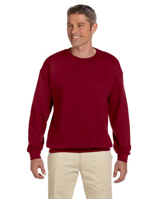 Gildan Adult Heavy Blend Adult 8 oz., 50/50 Fleece Crew - Garnet
