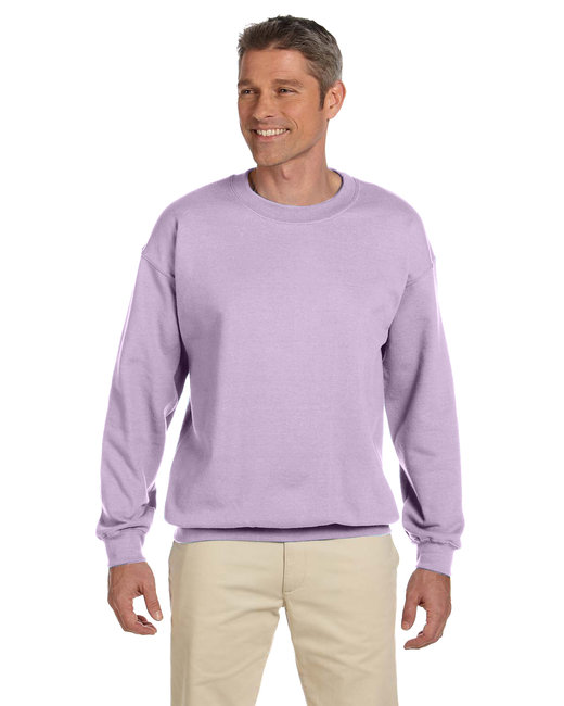 Gildan Adult Heavy Blend Adult 8 oz., 50/50 Fleece Crew - Orchid
