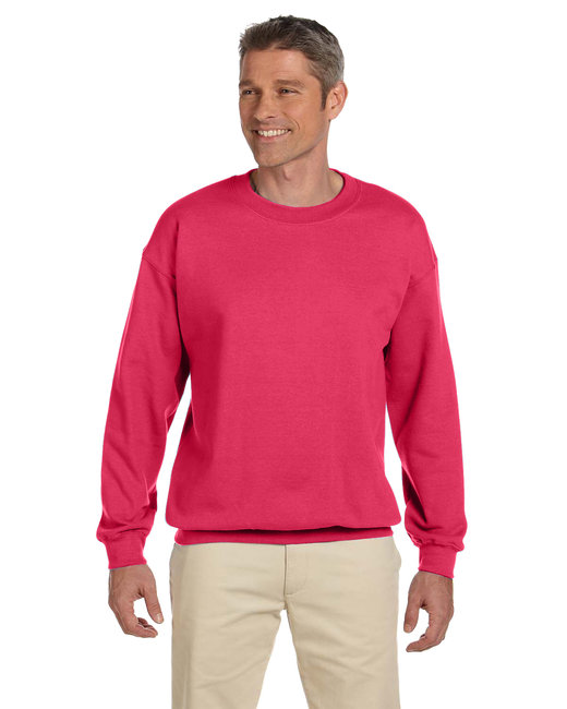 Gildan Adult Heavy Blend Adult 8 oz., 50/50 Fleece Crew - Paprika