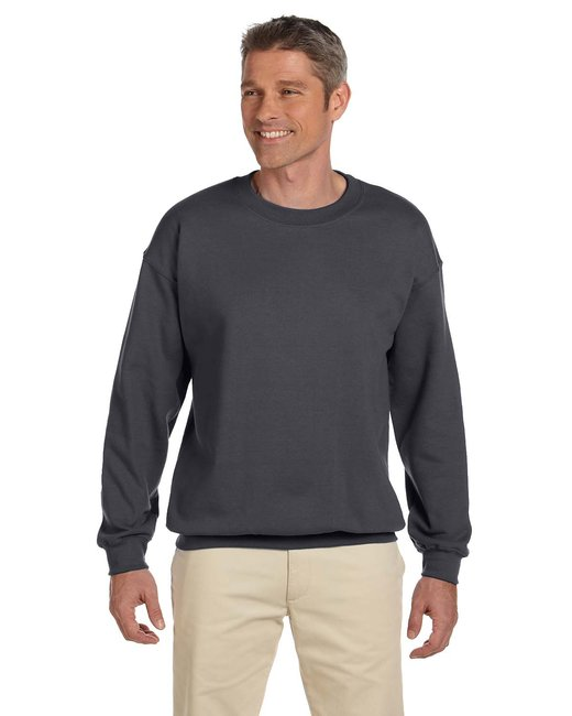 Gildan Adult Heavy Blend Adult 8 oz., 50/50 Fleece Crew - Charcoal