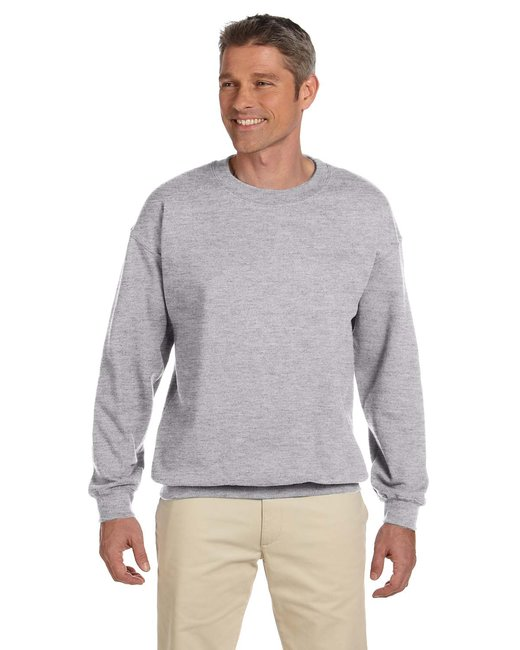 Gildan Adult Heavy Blend Adult 8 oz., 50/50 Fleece Crew - Sport Grey