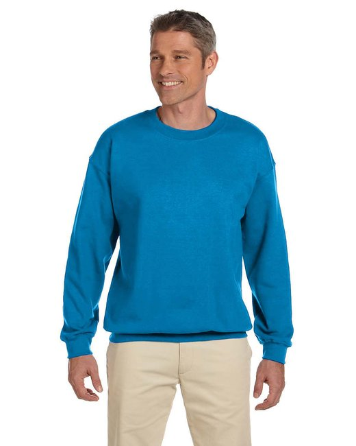 Gildan Adult Heavy Blend Adult 8 oz., 50/50 Fleece Crew - Sapphire