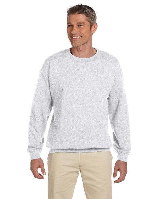 Gildan Adult Heavy Blend Adult 8 oz., 50/50 Fleece Crew - Ash