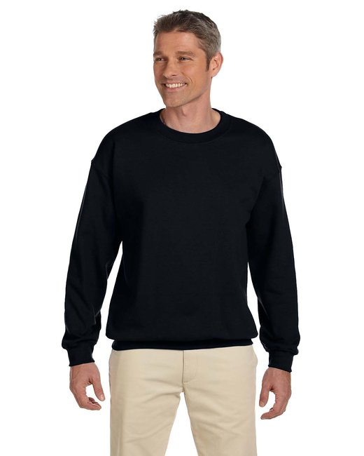 Gildan Adult Heavy Blend Adult 8 oz., 50/50 Fleece Crew - Black