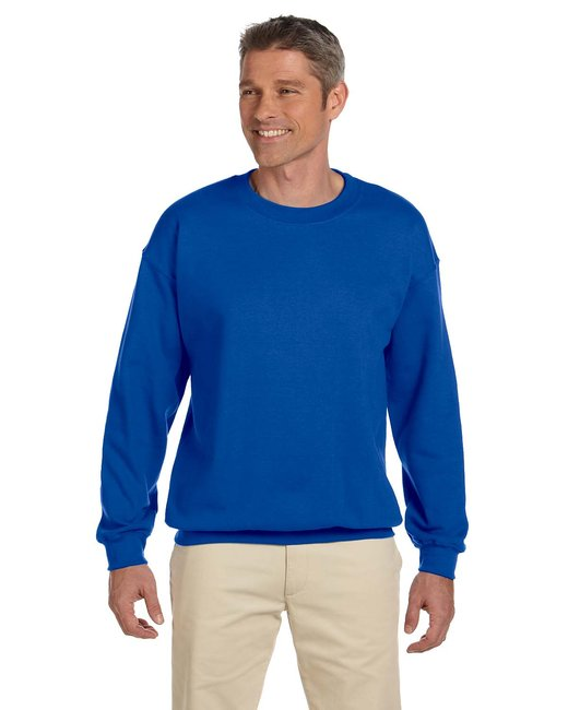 Gildan Adult Heavy Blend Adult 8 oz., 50/50 Fleece Crew - Royal