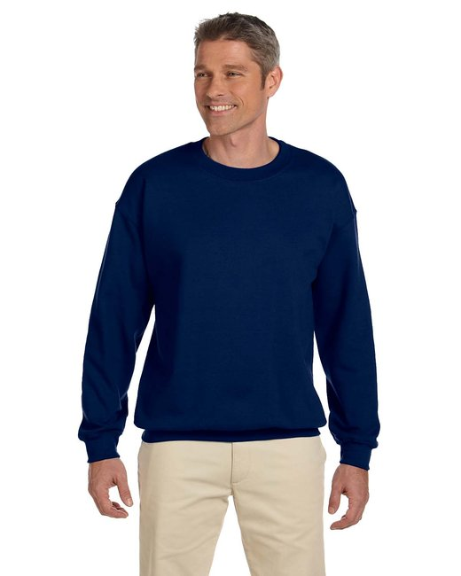 Gildan Adult Heavy Blend Adult 8 oz., 50/50 Fleece Crew - Navy