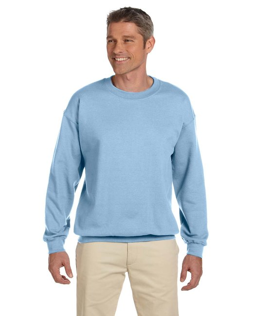 Gildan Adult Heavy Blend Adult 8 oz., 50/50 Fleece Crew - Light Blue