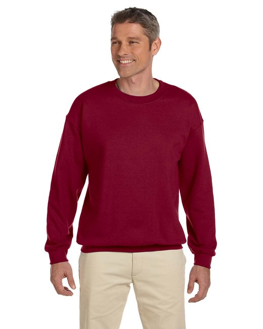 Gildan Adult Heavy Blend Adult 8 oz., 50/50 Fleece Crew - Antiq Cherry Red