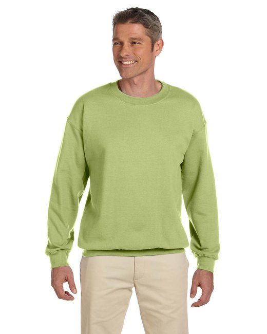 Gildan Adult Heavy Blend Adult 8 oz., 50/50 Fleece Crew - Kiwi