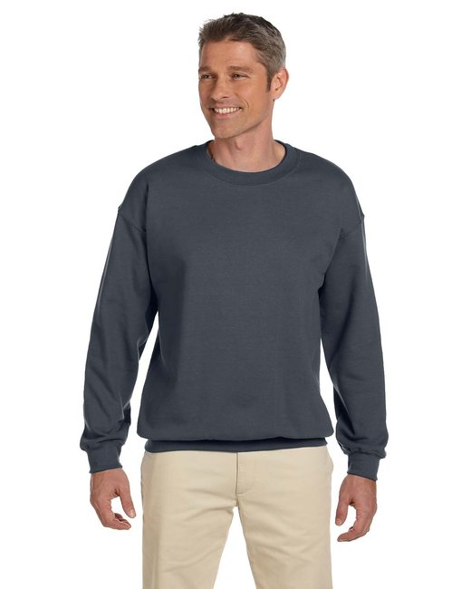 Gildan Adult Heavy Blend Adult 8 oz., 50/50 Fleece Crew - Dark Heather