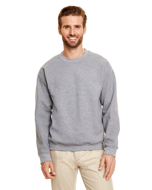 Gildan Adult Heavy Blend Adult 8 oz., 50/50 Fleece Crew - Graphite Heather