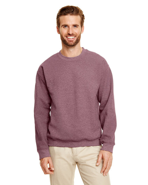 Gildan Adult Heavy Blend Adult 8 oz., 50/50 Fleece Crew - Ht Sp Drk Maroon