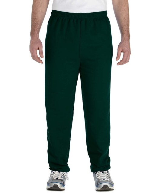 Gildan Adult Heavy Blend Adult 8 oz., 50/50 Sweatpants - Forest Green