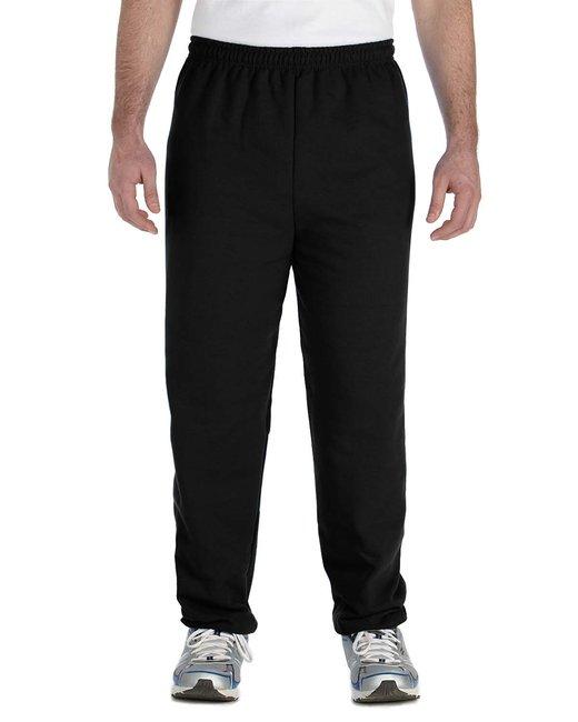 Gildan Adult Heavy Blend Adult 8 oz., 50/50 Sweatpants - Black