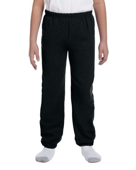 Gildan Youth Heavy Blend 8 oz., 50/50 Sweatpants - Black