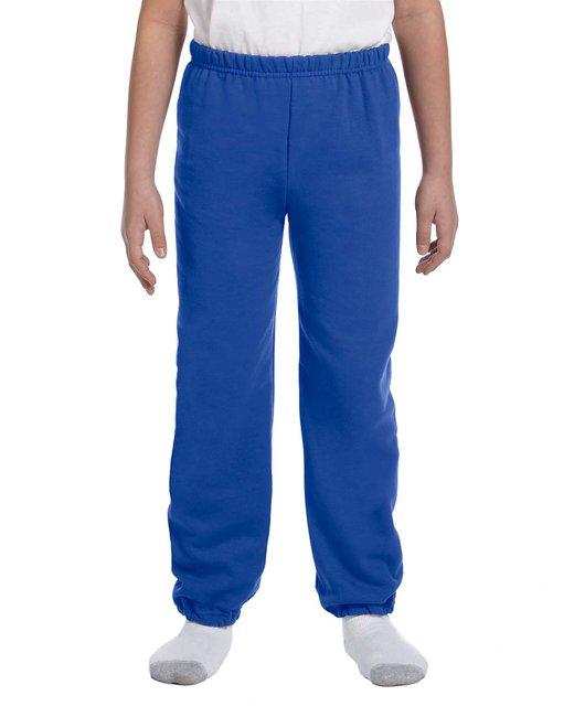 Gildan Youth Heavy Blend 8 oz., 50/50 Sweatpants - Royal