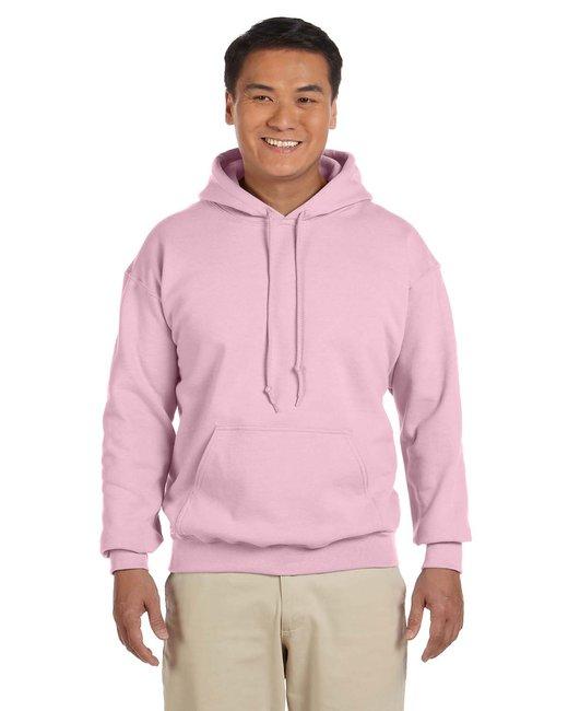 Gildan Adult Heavy Blend 8 oz., 50/50 Hood - Light Pink