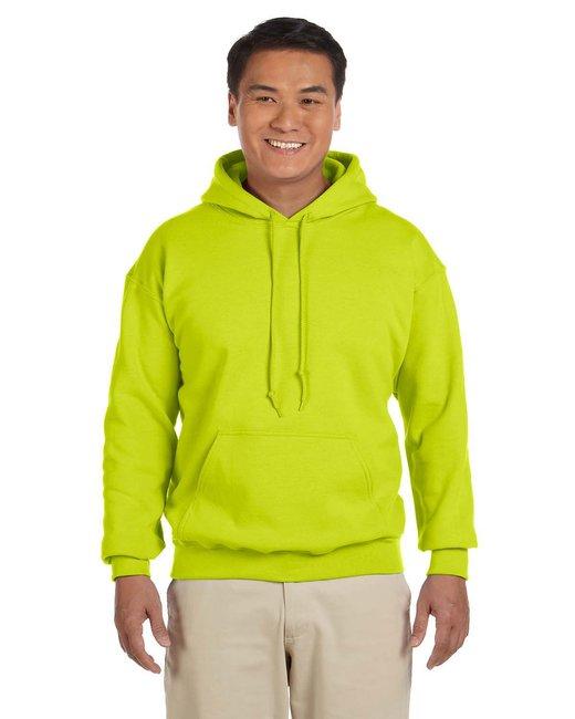 Gildan Adult Heavy Blend 8 oz., 50/50 Hood - Safety Green