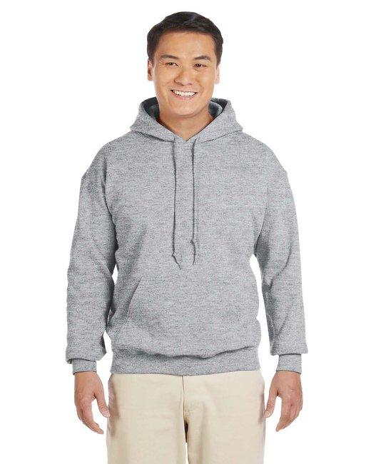 Gildan Adult Heavy Blend 8 oz., 50/50 Hood - Sport Grey